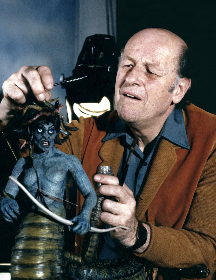 Clash Of The Titans Medusa Harryhausen