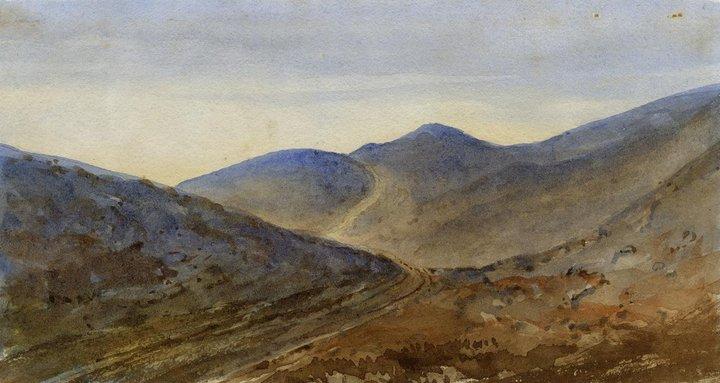 English School C.1850 Watercolour Landscape View 2019 Official Art
