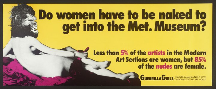 Image result for guerrilla girls