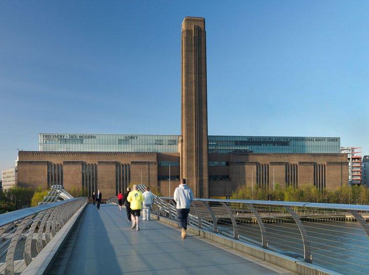 Constructing Tate Modern Project Tate