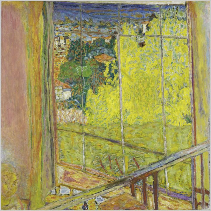 Pierre Bonnard, The Studio with Mimosas, 1939-46, Musee National d'art Moderne - Centre Pompidou, Paris