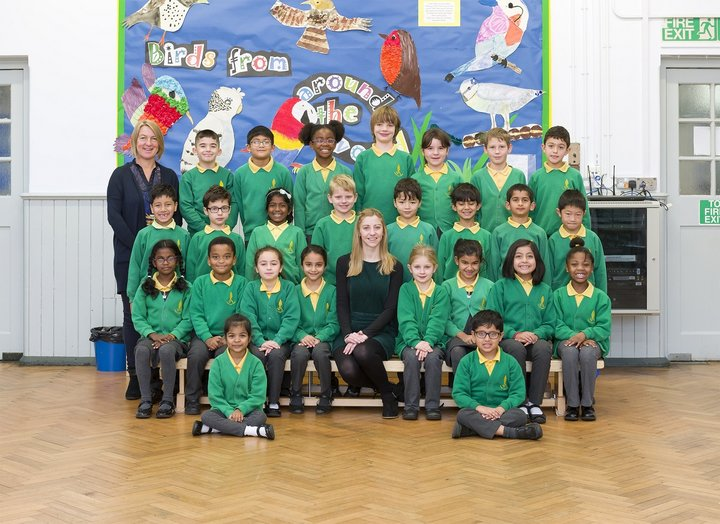 Photography of a year three class