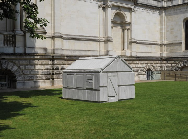 Rachel Whiteread Chicken Shed 2017, the artist and Galleria Lorcan O'Neill © Rachel Whiteread, photo: © Tate