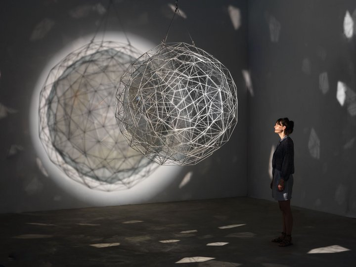 Photograph of Olafur Eliasson's artwork Stardust particle, 2014