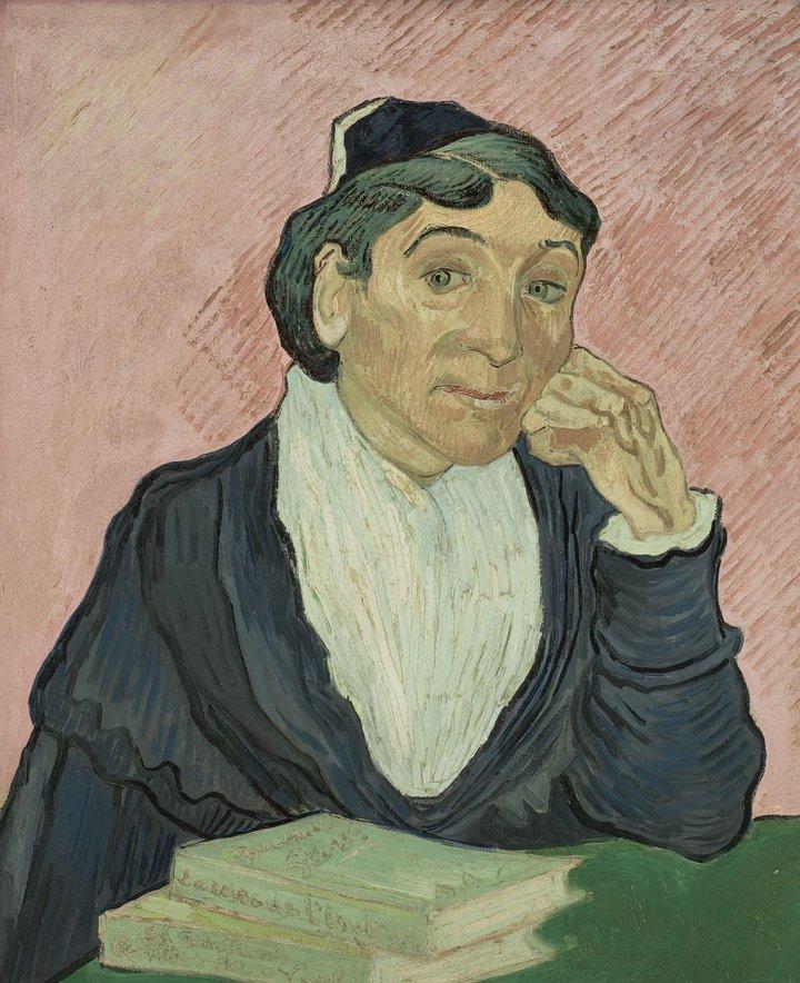 Vincent van Gogh L'Arlésienne 1890. Collection Museum de Arte de São Paulo Assis Chateaubriand