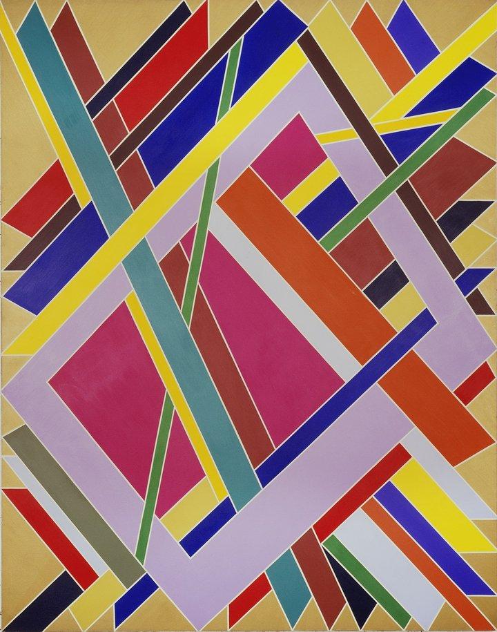 -William T. Williams Trane 1969 Studio Museum in Harlem (New York, USA) © William T. Williams; Courtesy of Michael Rosenfeld Gallery LLC, New York, NY