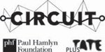 Circuit logo: Circuit is sponsored by the Paul Hamlyn Foundation and Plus Tate