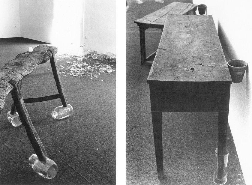 Fig.5 Joseph Beuys, Terremoto in Palazzo (particolare) installato presso l'Agenzia d'Arte Moderna di Napoli, 1981