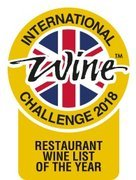 IWC Wine list of the year